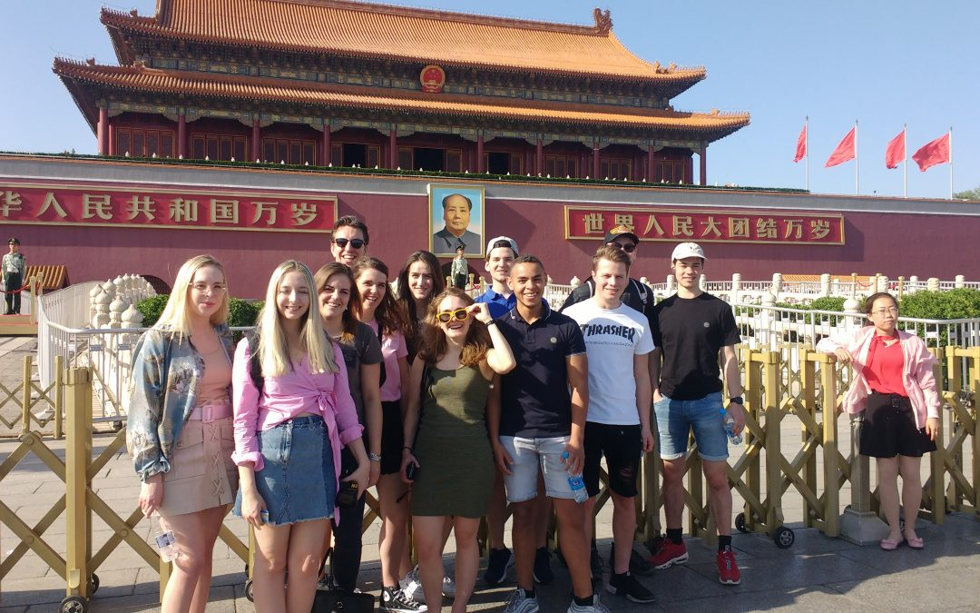 What's Happening? Studenten Fontys ACI op studiereis naar China