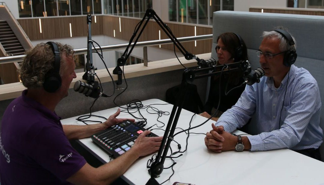 Podcast WijzijnFontys: Mark Herman en Christel Ruijs van Centre of Expertise HTSM