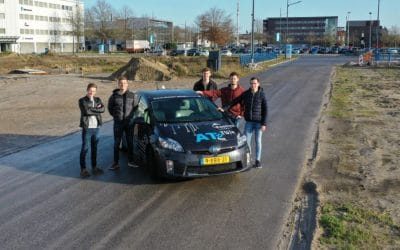Fontys Automotive project: Making the ATeam Prius more autonomous by creating a parking controller
